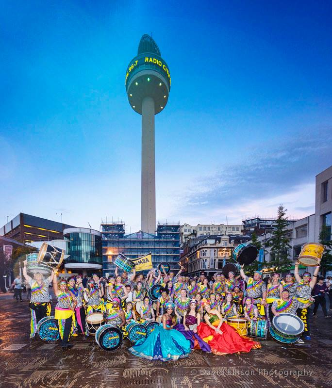 Katumba and friends at Brazilica festival Liverpool, Radio City Tower