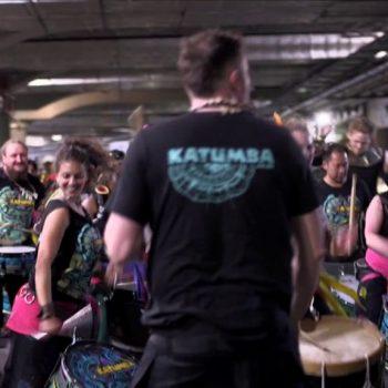 KATUMBA drum Twickenham Rugby Sevens