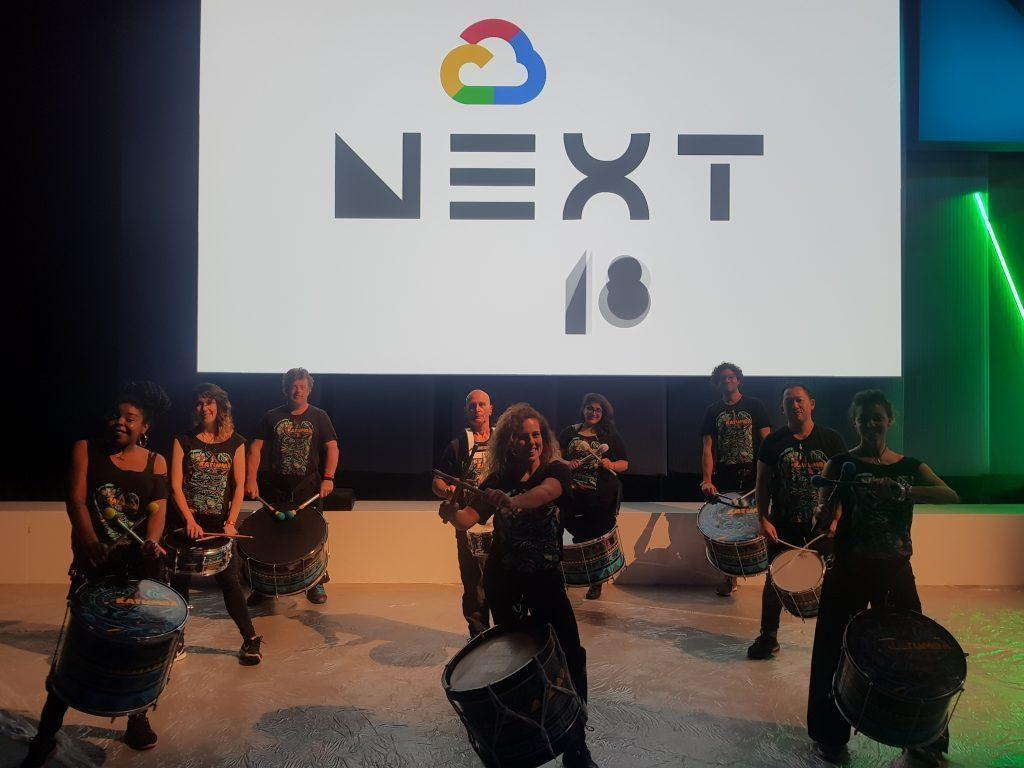 drumming band google next conference
