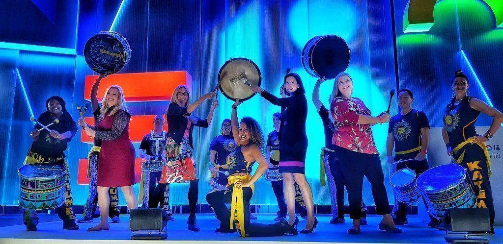 women drummers of katumba and women of google