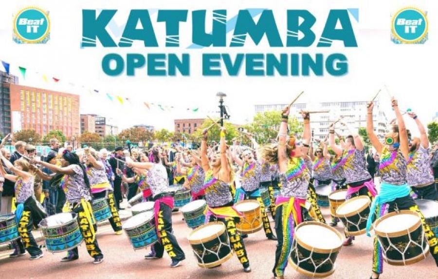 Drumming group Katumba open evening