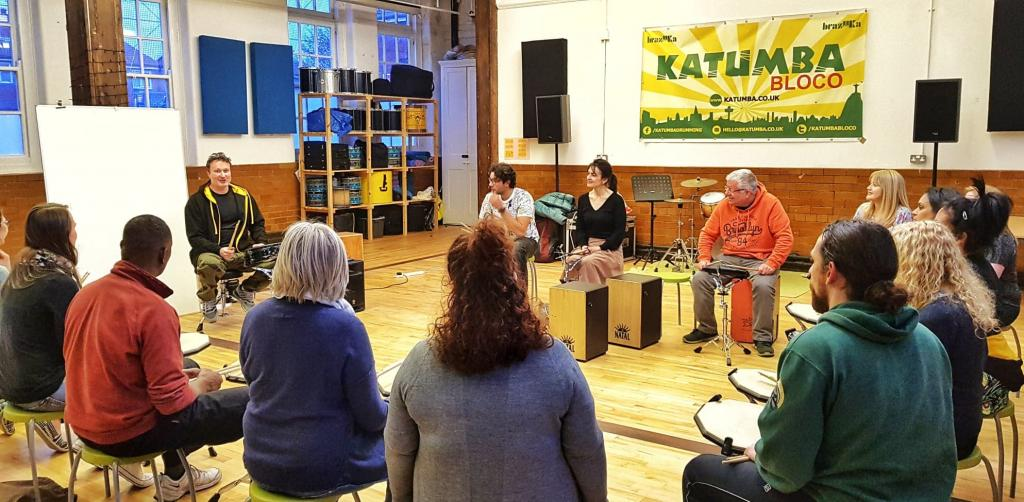 Drumming Technique at Katumba Culture Hub