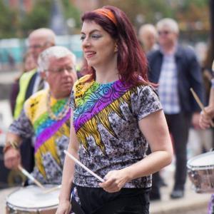 Julia Katumba Drummer