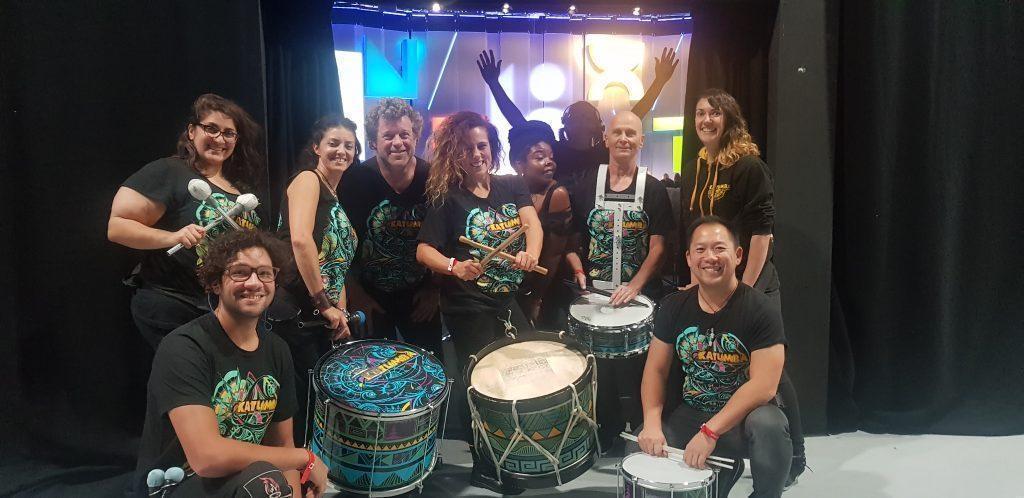 drumming band katumba google next conference