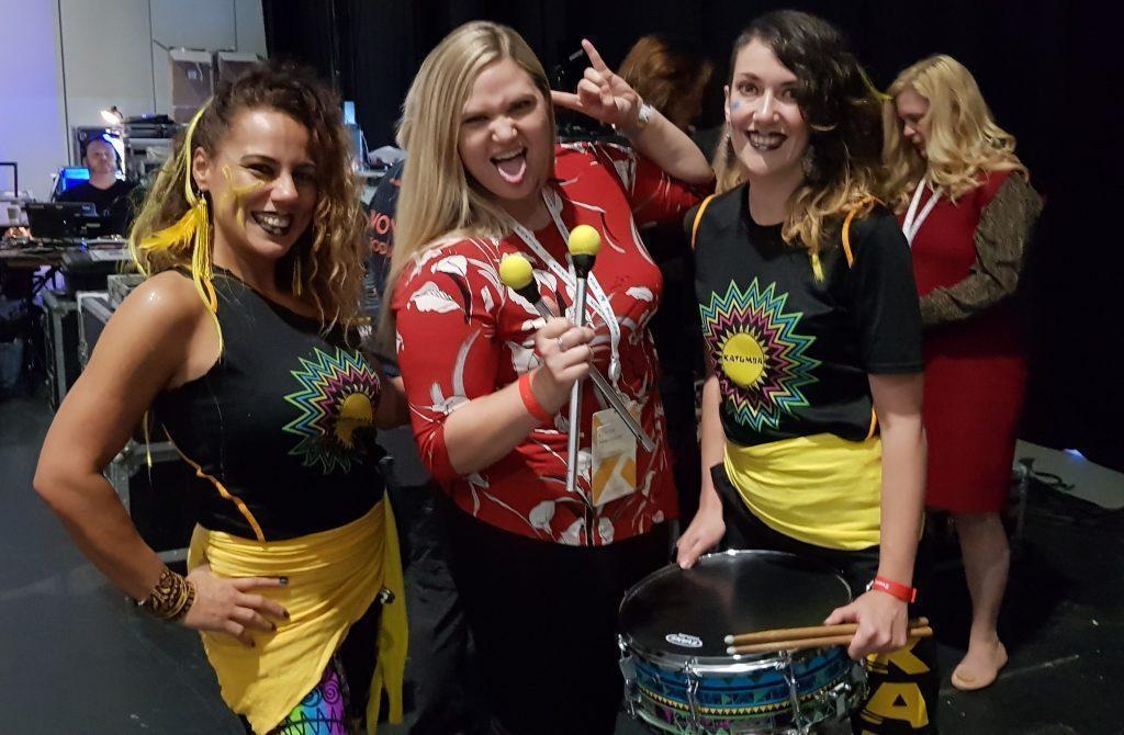 becky levanger google katumba drummers women